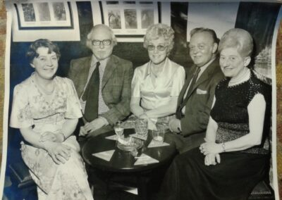 Regulars at the Swan Hotel back in the 70's